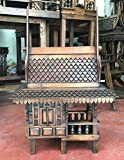 Super Large Thai Buddhist Wood Carving for Spiritual Haunted Spirit House Temple, Products From Thailand