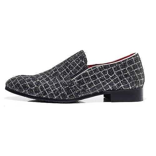 Traje de Negocios de Cuero para Hombres Zapatos de Vestir ...