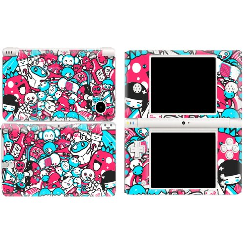 DOLLS Nintendo DSI XL NDSI XL Vinyl Skin Decal Sticker +Screen Protectors