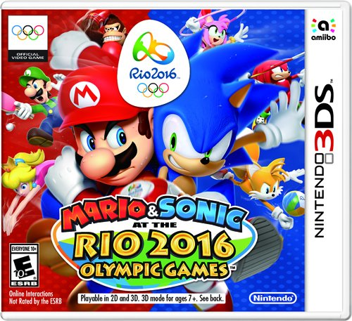 Mario & Sonic at the Rio 2016 Olympic Games - Nintendo 3DS Standard Edition (Sonic Games For Nintendo Ds)
