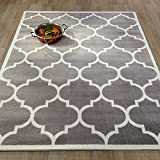 Ottomanson Paterson Collection Contemporary Moroccan Trellis Design Lattice Area Rug, 94