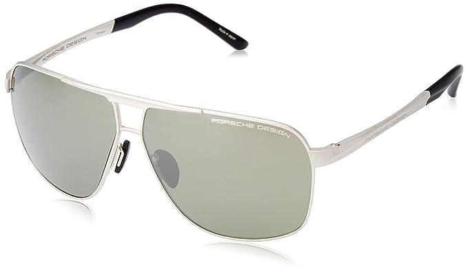 Amazon.com: Porsche Design Titanium Sunglasses P8665 D ...