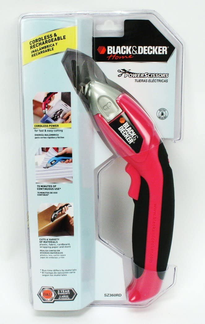 Black & Decker Home Power Scissors - Pink