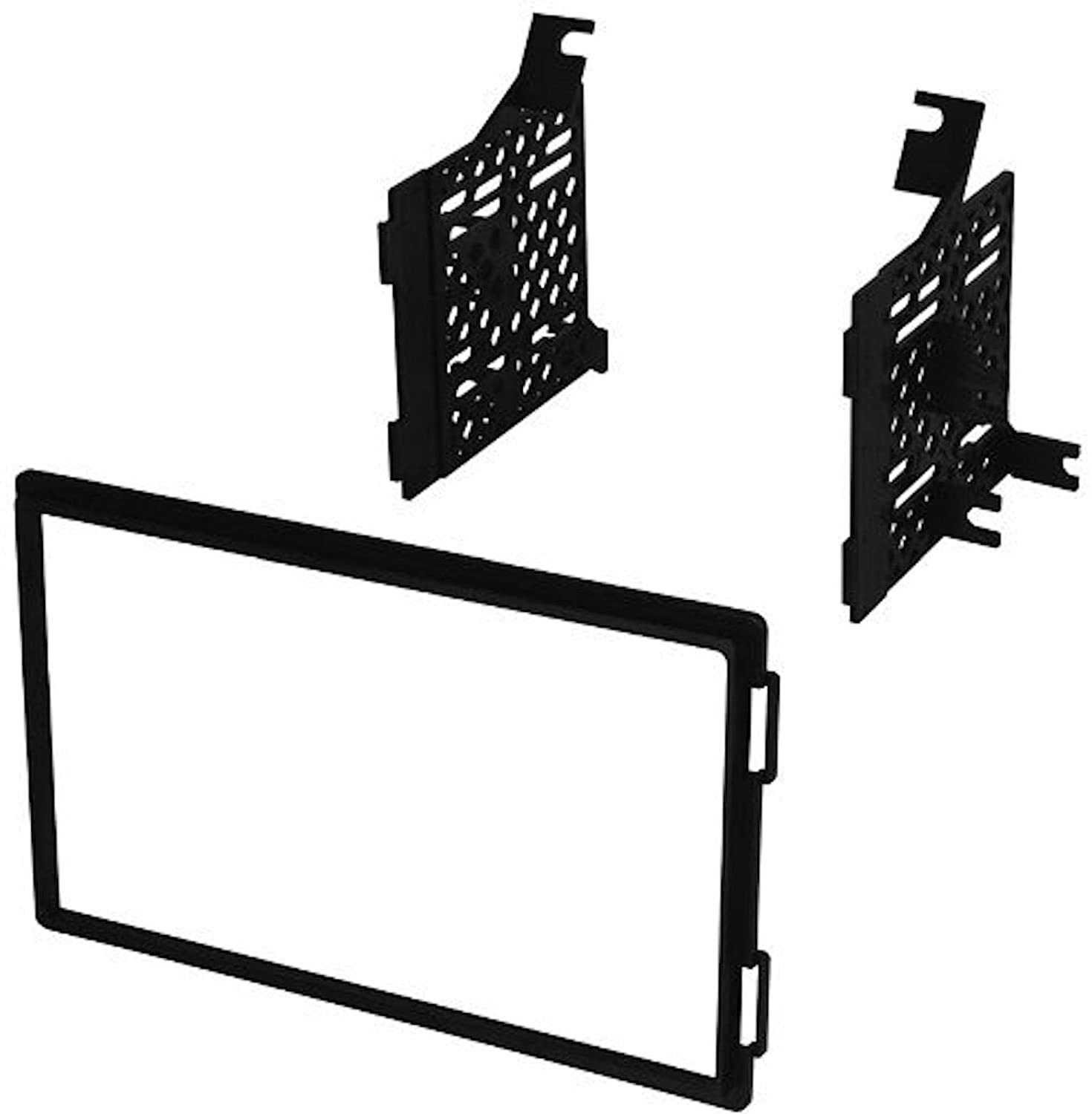 2005 2006 2007 2008 2009 2010 2011 2012 2013 2014 Nissan 350z Monitor Wiring Diagram Frontier Pathfinder Titan Xterra Double Din Dash Kit Install Automotive