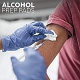 Care Touch Sterile Alcohol Prep Pads, Medium