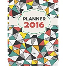 Planner 2016: Planner Beautiful Design Useful Function (Printable Version)