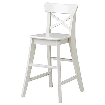 Kzt Junior Stuhl Weiß Höhe 77 Cm Gibt Die Richtige Sitzhöhe Für