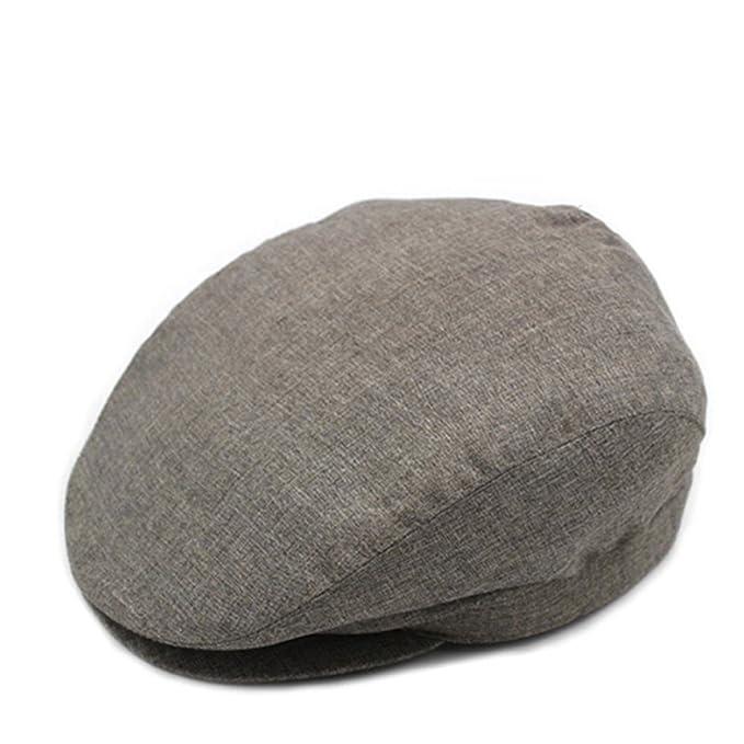 sombrero de primavera y otoño en los ancianos  Hombre niño casquillo  Verano  sección delgada tapa de ancianos octogonal SOMBREROS MODA Sombreros de ... 068939a965e