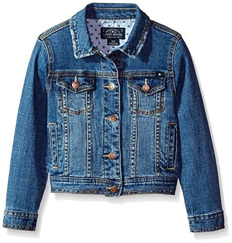 Lucky Brand Toddler Girls'Denim Jacket, Brianna Christi Wash, 4T/4 by Lucky Brand
