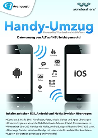 Mein Handy Umzug Mobile Trans Pc Download Amazonde Software
