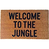 Reed Wilson Design Welcome to the Jungle Doormat - Flocked Lettering