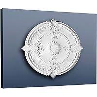 Rosetón Florón Elemento decorativo de estuco Orac Decor