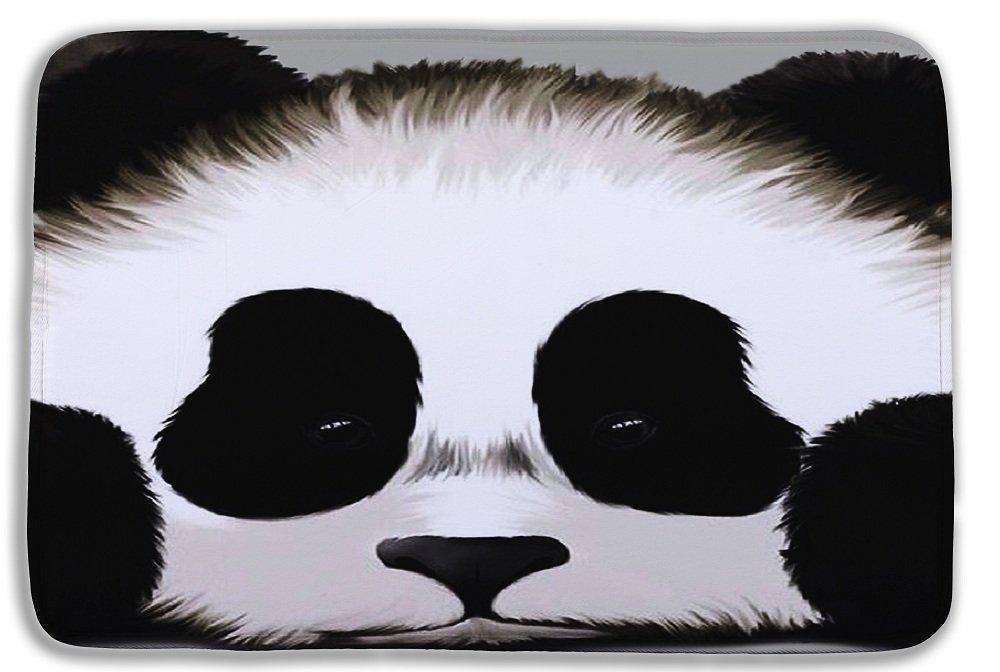 Izielad Animal Panda Bathroom Mat Washable Bath Rug For Floor Bathroom Bedroom Living Room 15.7x23.6 INCH 40x60CM