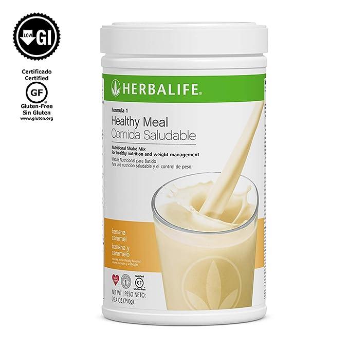 Herbalife fórmula 1 saludable comida nutricionales sabor Platano: Amazon.es: Hogar