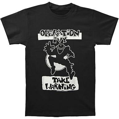 Operation Ivy Mens Take Warning T-shirt Small Black