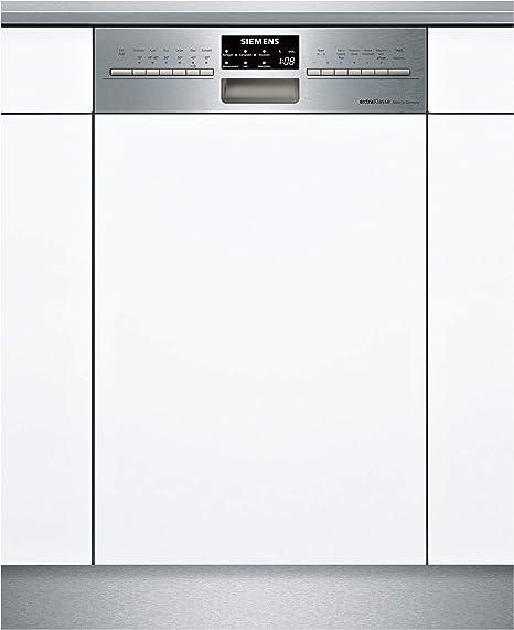 Siemens iQ500 SR556S00TD lavavajilla Semi-incorporado 10 cubiertos ...