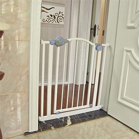 Dbtxwd Puerta De Seguridad para Bebés para Escaleras, Pasillos Y Puertas para Mascotas O Bebés, Fácil De Instalar, Cierre De Seguridad, Se Adapta A Espacios Entre 30
