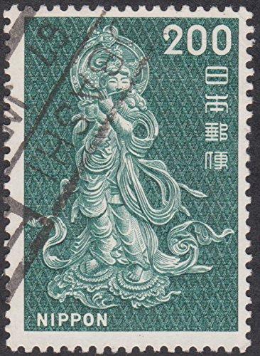 Buddha 200 Yen Japan 1966 Postage Stamp -
