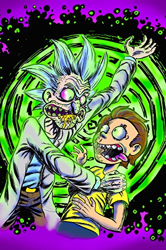 Rick And Morty Acid Poster 24x36