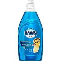 Dawn Ultra Original Dish Detergent Liquid Blu Plastic Squeeze Btl Rp, 16.2 Ounce