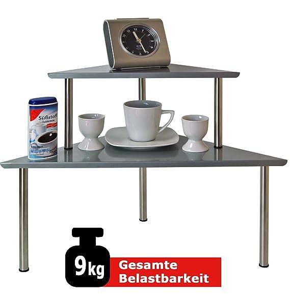 Kuchenregal Edelstahl 45x16 22x16 Spulbeckenregal Weihnachten