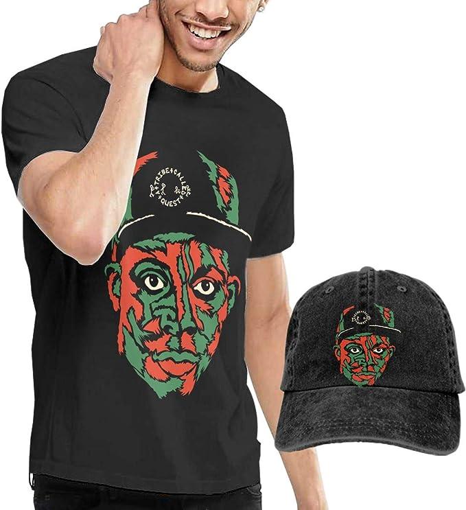 Una tribu llamado Quest Logo camiseta y sombreros para hombre ...