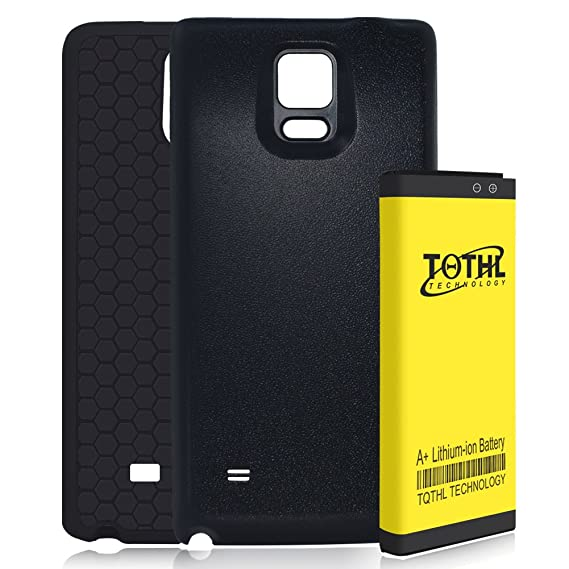 promo code c7c7b 79c62 Amazon.com: Note 4 Extended Battery | Upgraded TQTHL Samsung Galaxy ...