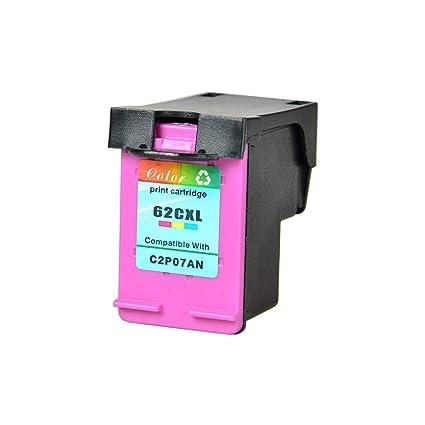 NineLeaf - Cartucho de tinta de repuesto para HP 62 62XL para Envy ...