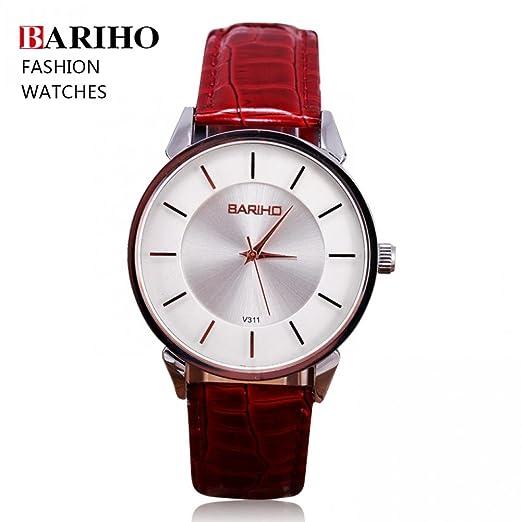 Regalo de la belleza de la marca de relojes de hombre Bariho Relogio Unisex de las ...
