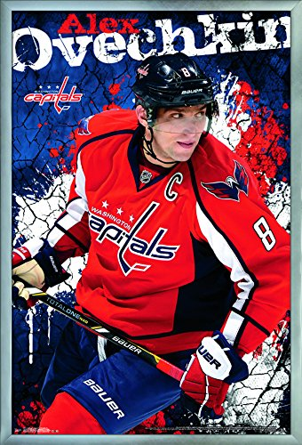 "Trends International Washington Capitals-Alexander Ovechkin Wall Poster, 24.25"" X 35.75"", Multi"