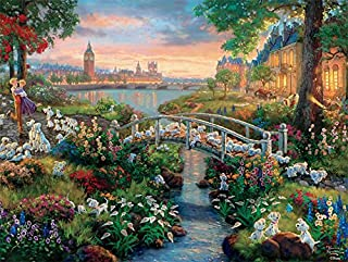 product image for Ceaco Thomas Kinkade The Disney Collection 101 Dalmatians Jigsaw Puzzle, 750 Pieces