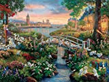 Ceaco The Disney Collection - 101 Dalmatians Puzzle by Thomas Kinkade Puzzle (750 Piece)