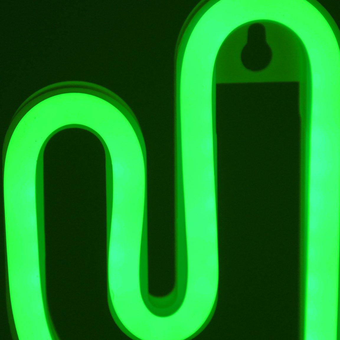 Bada Bing LED Neonlicht Flamingo Stimmungslicht Leuchtreklame Neonr/öhren Optik Tischlampe Tischdeko Trend 72