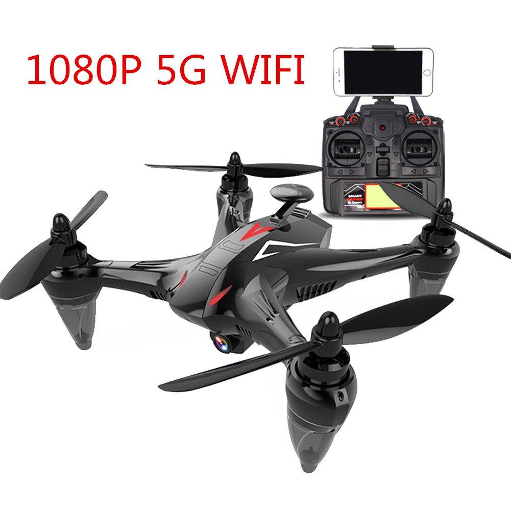Etbotu Luftfahrzeuge Drohnen GW198 Professionelle 5G WIFI GPS Brushless Quadrocopter mit HD Kamera RC Drone Geschenk Spielzeug