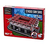 Nanostad ( nano stud ) San Siro Stadium ( Giuseppe Meazza ) 3D puzzle (AC Milan package color : Red )