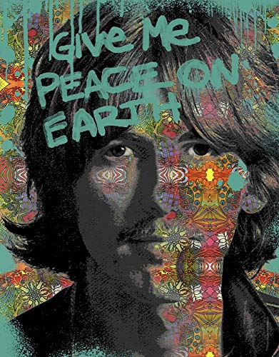 George Harrison Poster - George Harrison by Dean Russo Art Print, 12 x 15 inches