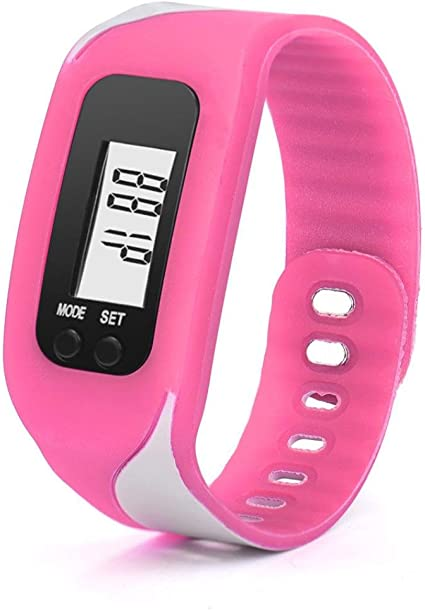 HX-Sports-Watch-Bracelet-Pedometer-Wrist-Step-Walking-Calorie-Counter-Track I9O6