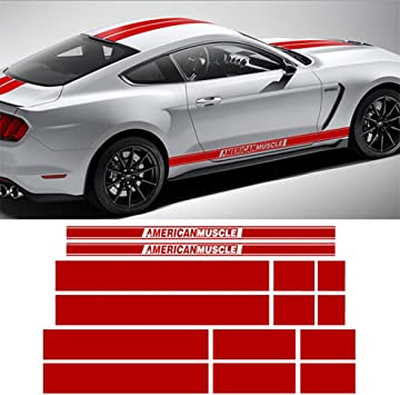 2X M Color Performance Car Side Body Emblem Window Decal Fender Sticker for BMW