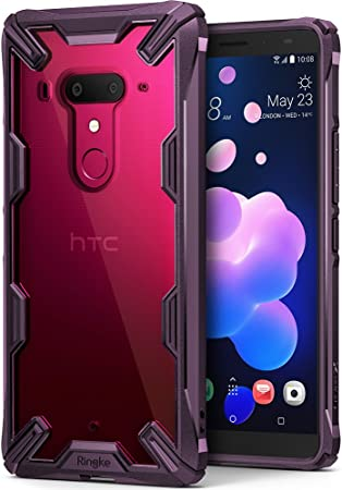 Ringke Funda HTC U12 Plus, [Fusion-X] Ergonómico Protector TPU ...