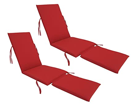Fantastic Urbandesignfurnishings Com Made In Usa Outdoor Sunbrella Canvas Jockey Red 5403 Steamer Chair Replacement Cushion Pad 2 Pack Pdpeps Interior Chair Design Pdpepsorg
