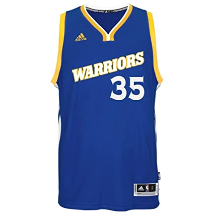 brand new a3607 7671d adidas NBA Men's-Kevin Durant #35-Golden State Warriors-Swingman  Jersey-(Warriors) Blue-Large