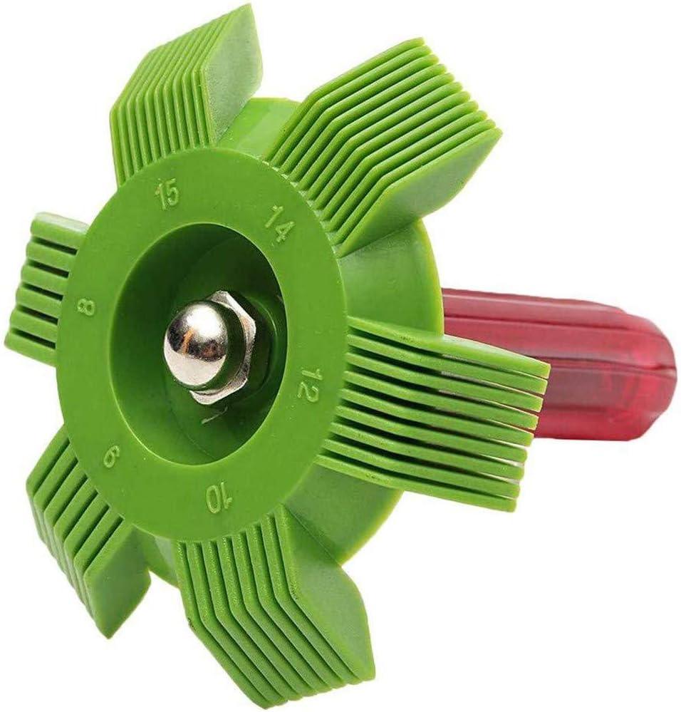 Cutogain Climatiseur Peigne /à ailettes Condenseur Radiateur R/éparation Scum Dust Cleaner Tool