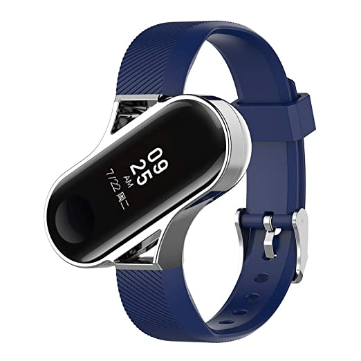 Banda de Cuero Larga Círculo Doble Tour Pulsera Pulsera para Apple Watch 38 MM Correa de Reloj Cuero de Inteligente: Amazon.es: Relojes