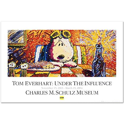 "Tom Everhart ""Last Supper"" PEANUTS Fine Art Poster"