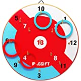 Maggift Ring Toss Game Quoits Game for Kids & Adults Indoor or Outdoor Game with Rope Rings