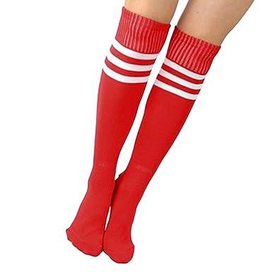 405d8f04d4b32 Grace Karin - Chaussettes hautes - Homme rouge Rouge One size fits the  most: Amazon.fr: Sports et Loisirs