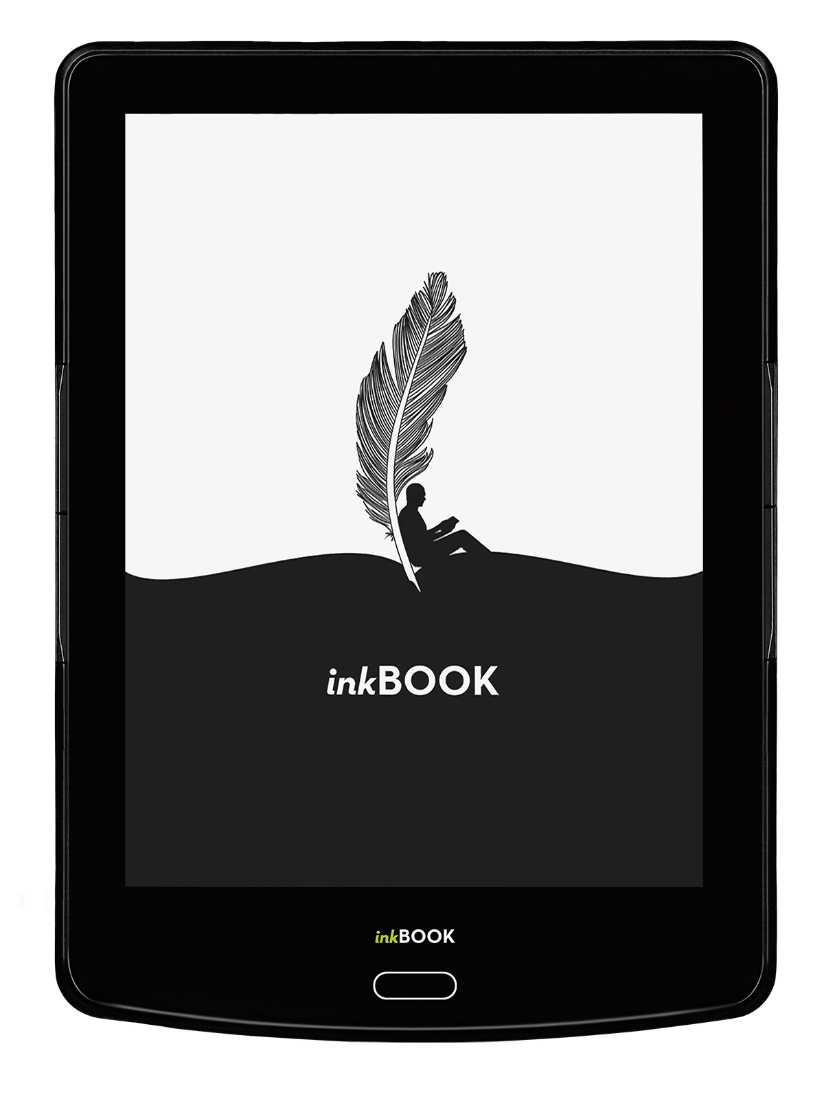 inkBOOK Prime - 6'' ebook reader with ePaper E Ink Carta Flat Glass Solution touchscreen with Rapid Refresh technology, Built-in Light (8 LED), Android, App Store, Wi-Fi, 8 G by inkBOOK (Image #1)