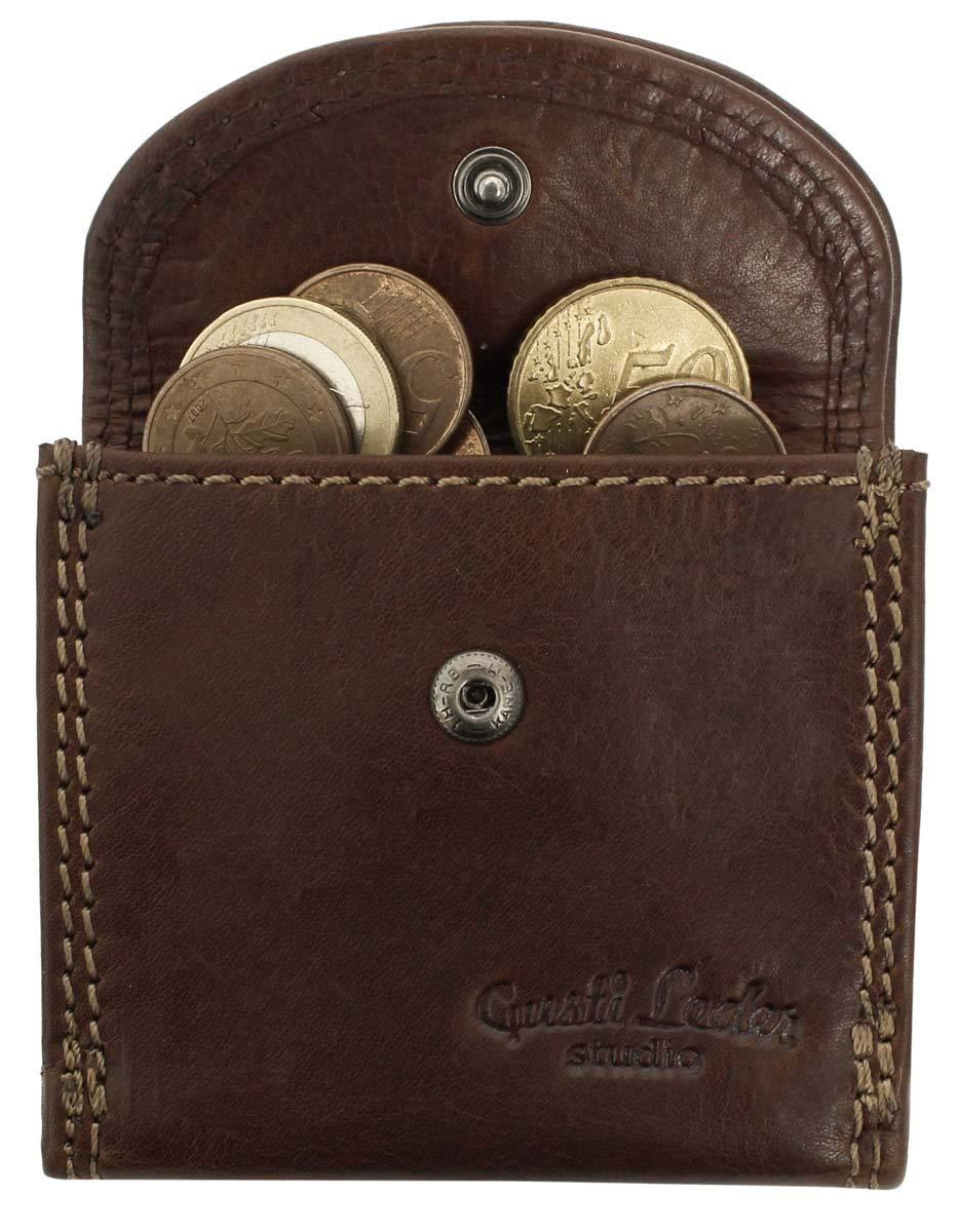 Gusti Leder studio Cartera de Cuero Auténtico Monedero de Piel Billetera Estilo Vintage Y Retro Dinero Identificación Billetes Monedas Tarjetas de ...