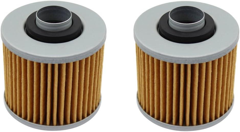 lot de 2 2003//Xt600e 1991 2003//Xt600/Xt600z Tenere 600/1983 1989/1991/ Cyleto filtre /à huile pour Yamaha Xt600/1983