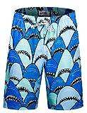 Men's Swim Trunks Quick Dry Shark Bathing Suits for Men Swim Shorts HW006 XXL